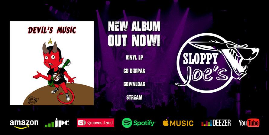 DEVIL'S MUSIC - New Album (CD, LP, Digital)