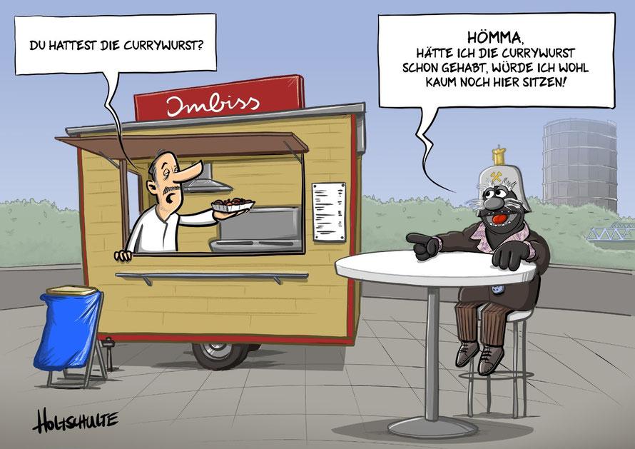 Cartoon von Michael Holtschulte