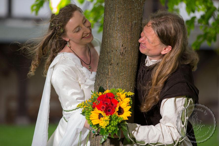 Mittelalterkleid Mittelaltergewand, Hochzeitsgewand