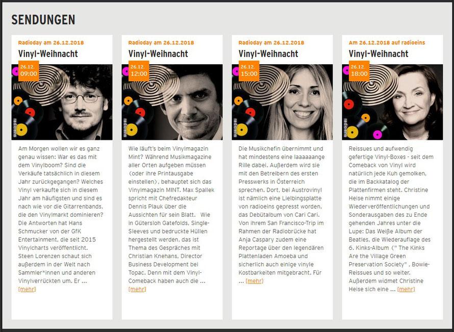 Foto: Infoblock von Radio rbb radio eins.de