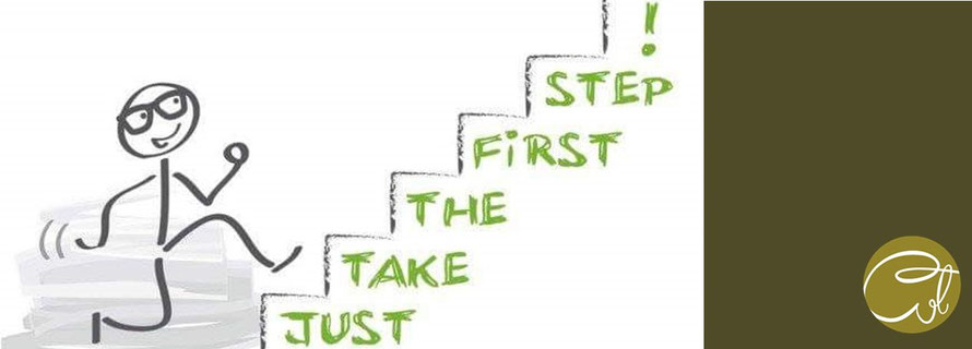 Just take the first step