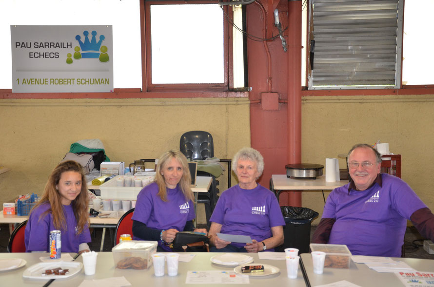 Les bénévoles de Pau Sarrailh