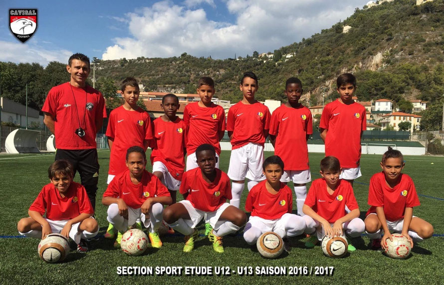 Section Sport-étude U12 - U13 Saison 2016/2017