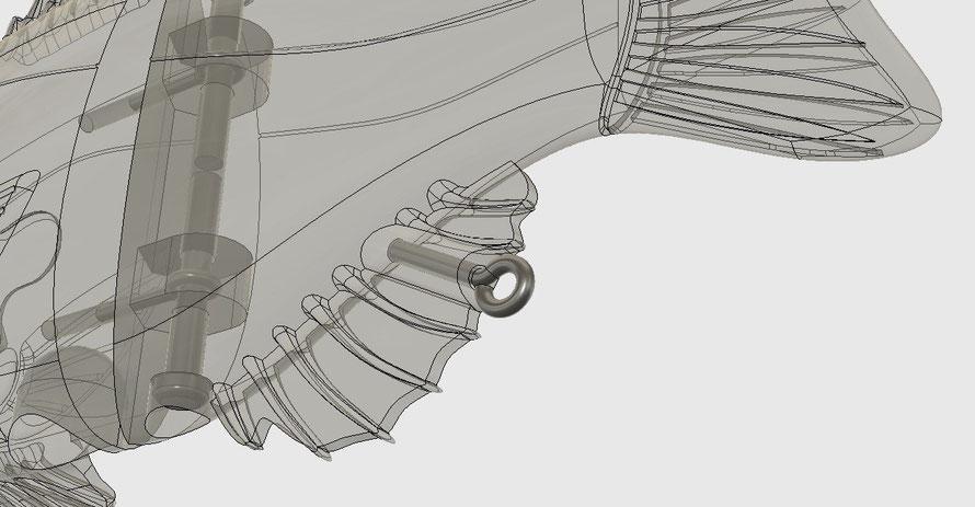3DCAD・3Dプリンターを活用することで思い通りのルアー作成が可能になります。
