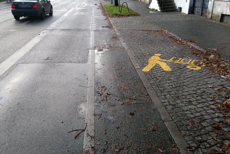 Ladezonen / Haltebuchten zum Ein- und Ausladen / Potsdam