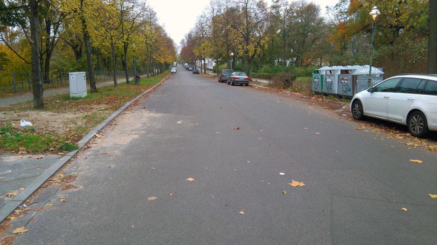 Am Goslarer Ufer in Charlottenburg finden Sie fast immer einen Parkplatz zu jeder Tages- und Nachtzeit!