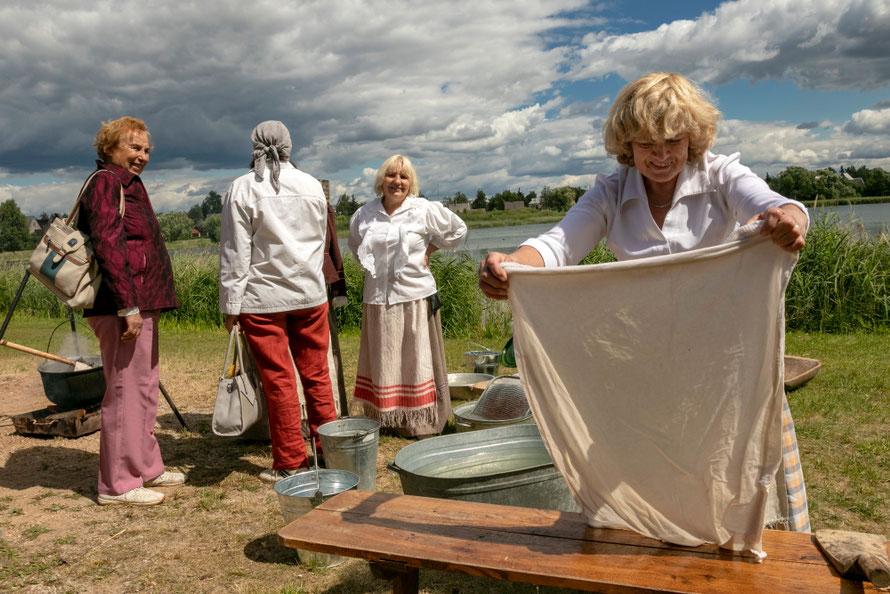 Prie Dauniškio ežero vyksta daug renginių / Foto: Kristina Stalnionytė
