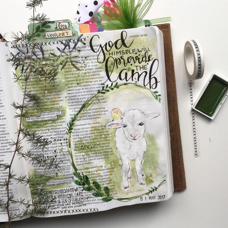 biblejournaling els hartog genesis