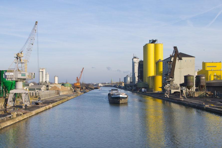 Hafen Hamm (Foto: Heinz Feußner)