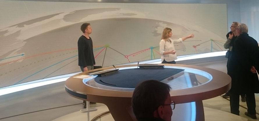 Der VdSBB im Studio bei der Deutschen Welle