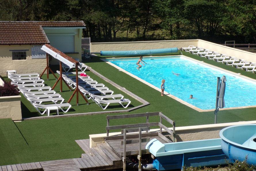 Camping du Lot Vallée de la Dordogne avec piscine chauffée