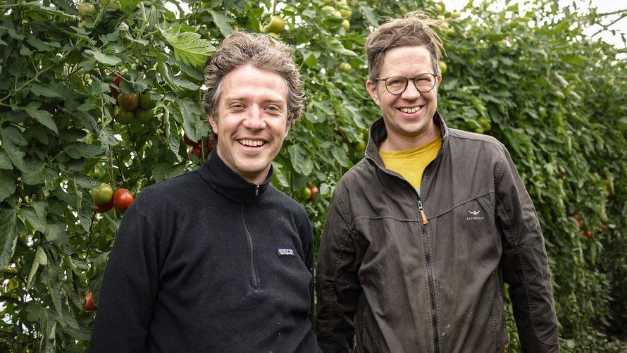 Tiny Farms Gründer: Jacob Fels und Tobias Leiber © Tiny Farms UG (haftungsbeschränkt), Berlin