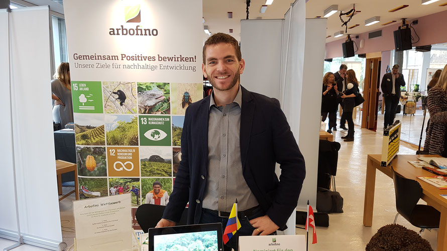 Dominic Ziegler auf der Business Expo 2019 in Zürich © Foto: Bellone Franchise Consulting GmbH