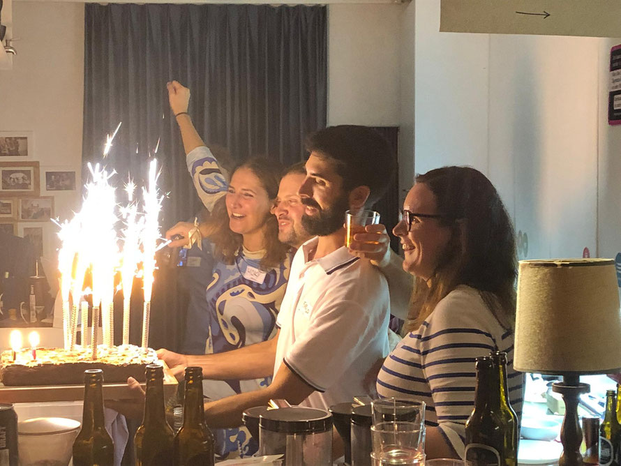 Celebrating our first year birthday © ZÜRICHIPS