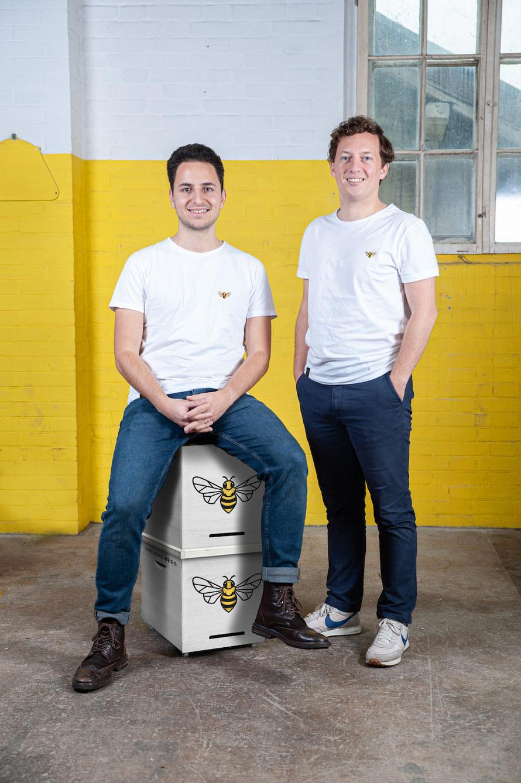 Giacomo & Fabian, Founder © BEEYOND