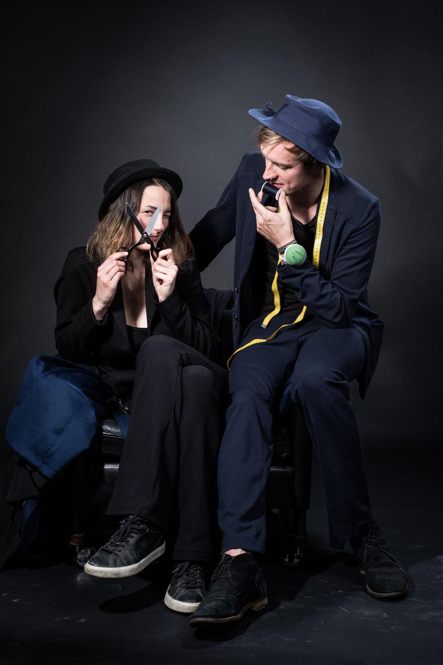 Mareike Ficht & Paul Kupfer (Gründerin & Gründer) Photo: Luca Abbiento © Suits For Good