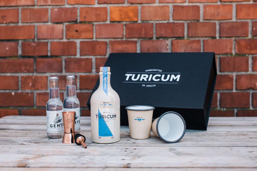 TURICUM Gin-Lab-Box ausgepackt © by Sandra Marusic Photography