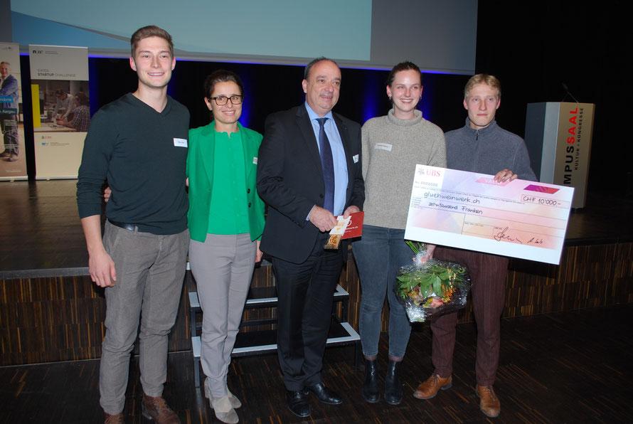 Challenge fulfilled: 10.000 Franken by UBS © Gluehweinwerk.ch KGL
