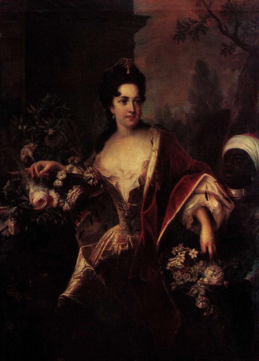 Anna Constantia Reichsgräfin von Cosel (unbekannter Maler, 1705)    www.wikipedia.de