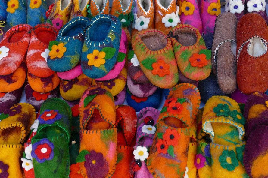Georgische Filzpantoffeln     www.pixabay.com / Falco