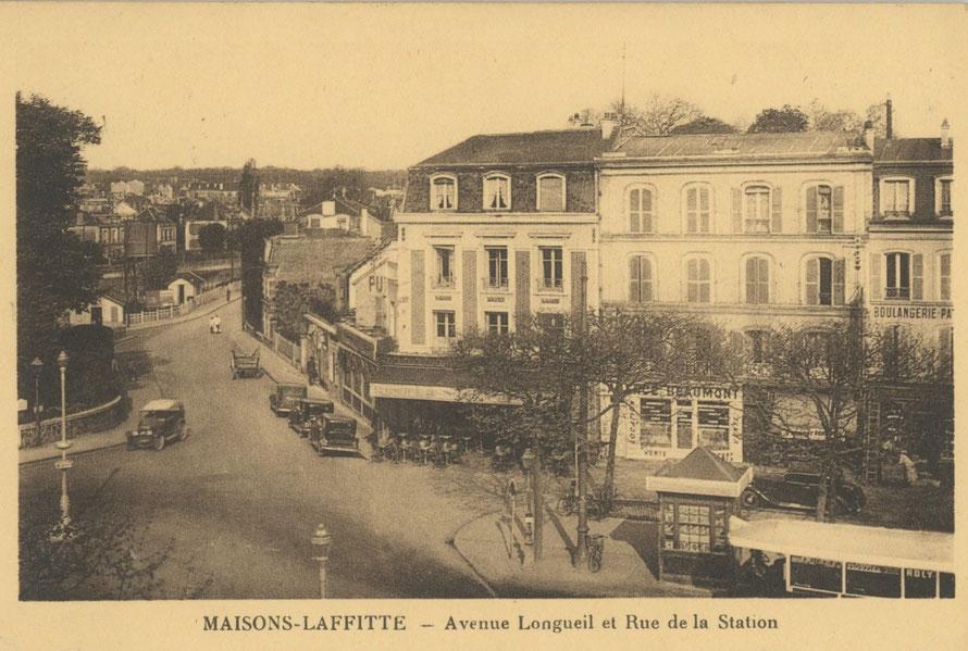 maisons-laffitte avenue longueil et rue de la station