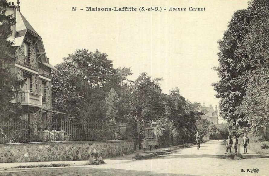 maisons-laffitte avenue carnot
