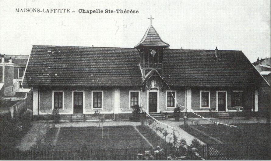 Chapelle Sainte Thérèse à Maisons-Laffitte