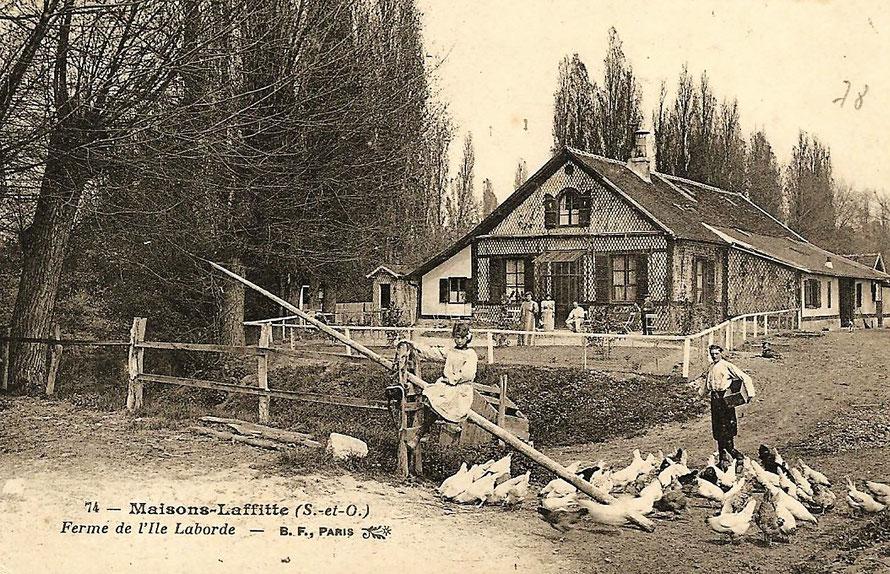 Maisons-Laffitte, la ferme de l'ile