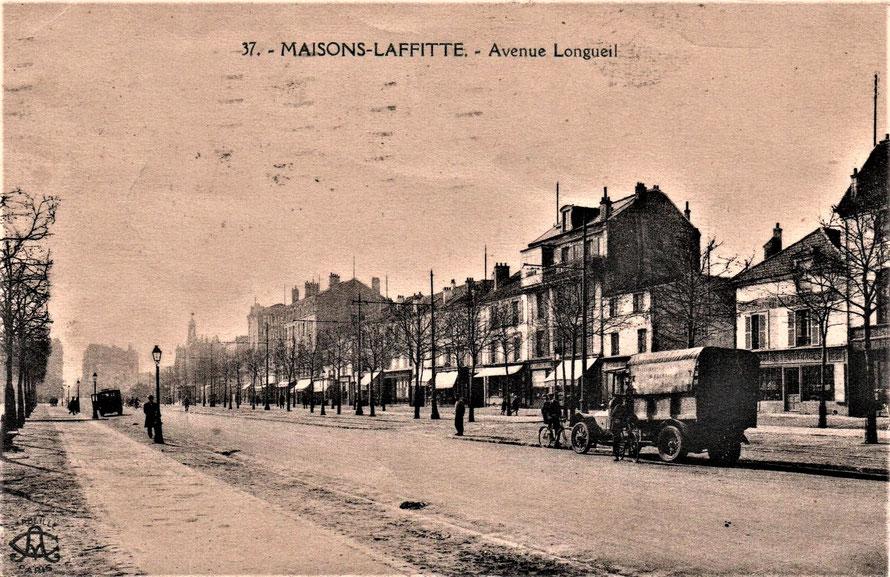 maisons-laffitte avenue longueil en 1923