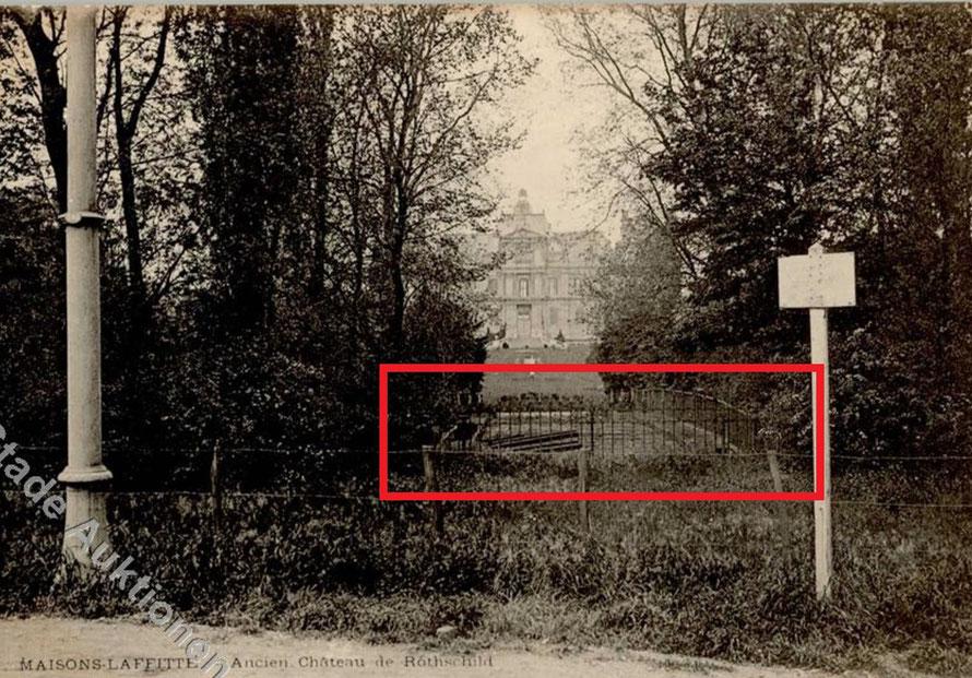 Le chateau de Maisons-Laffitte vers 1900