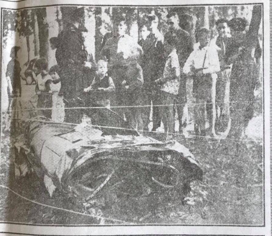 collision aérienne le 20 septembre 1958