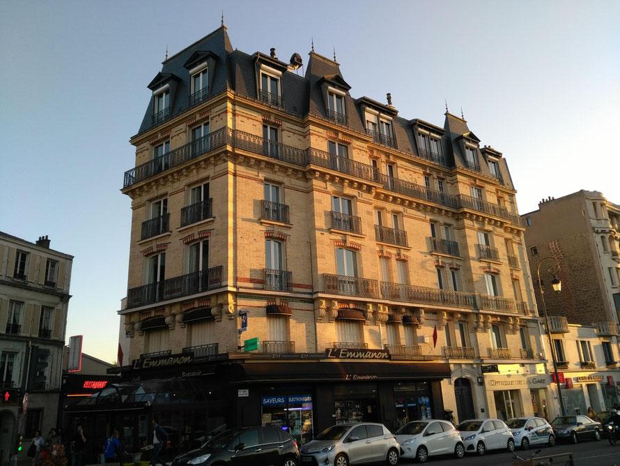 maisons-laffitte immeuble avenue du general de gaulle