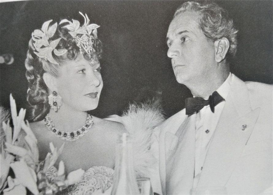 la Môme Moineau et son mari Felix Benitez