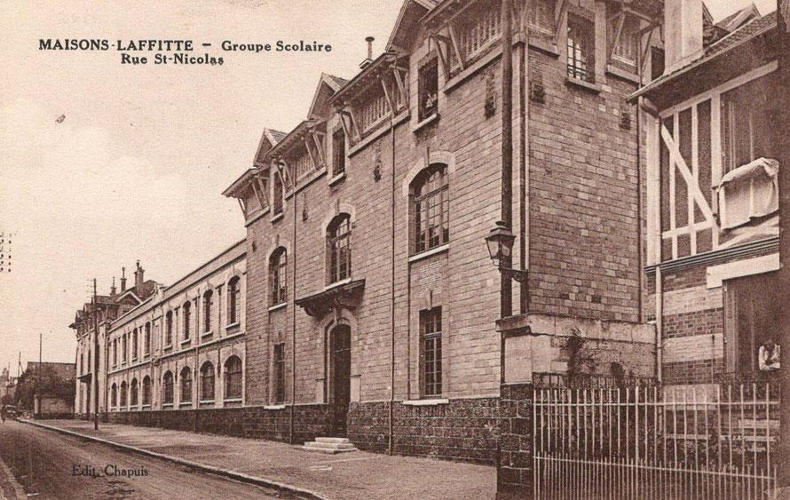 maisons-laffitte école rue saint nicolas