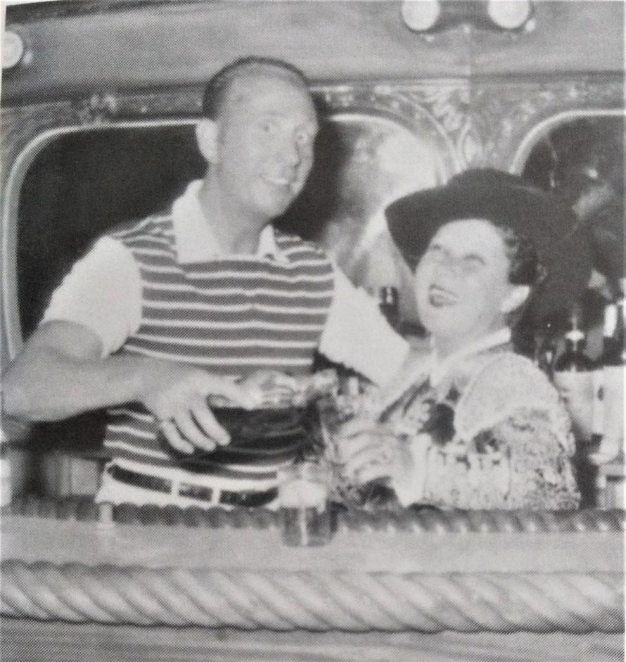 La Môme Moineau et Charles Trénet