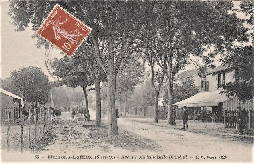 maisons-laffitte avenue dumenil
