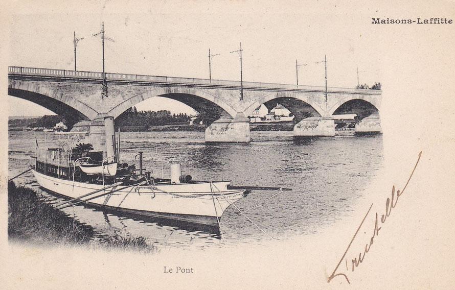 Maisons-Laffitte le pont de pierre