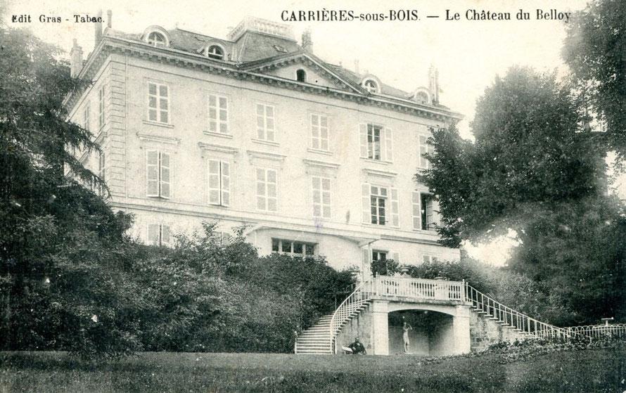 mesnil-le-roi chateau du belloy