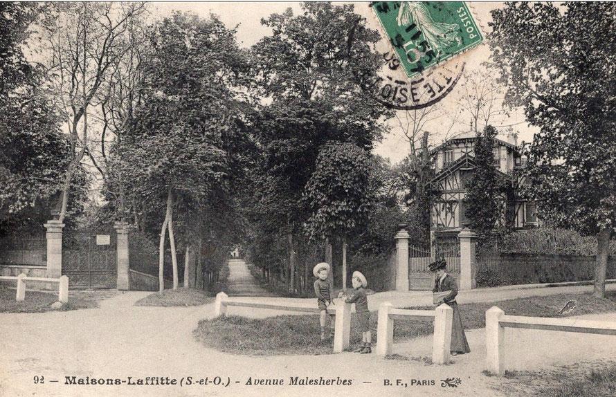 maisons-laffitte avenue malesherbes