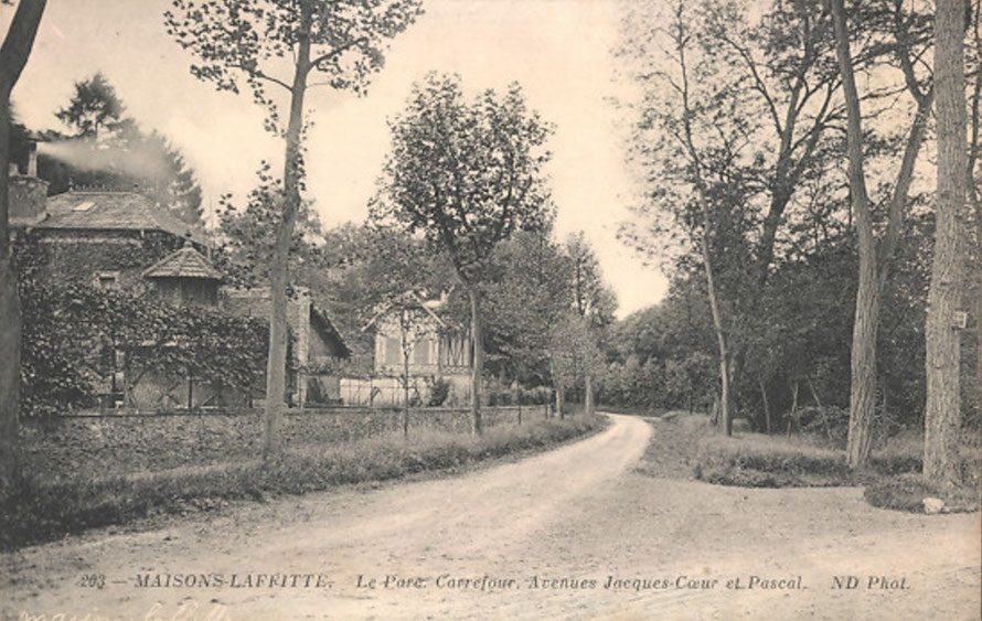 maisons-laffitte avenue jacques coeur