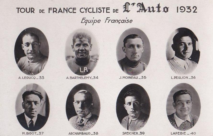 L'équipe d'André Leducq