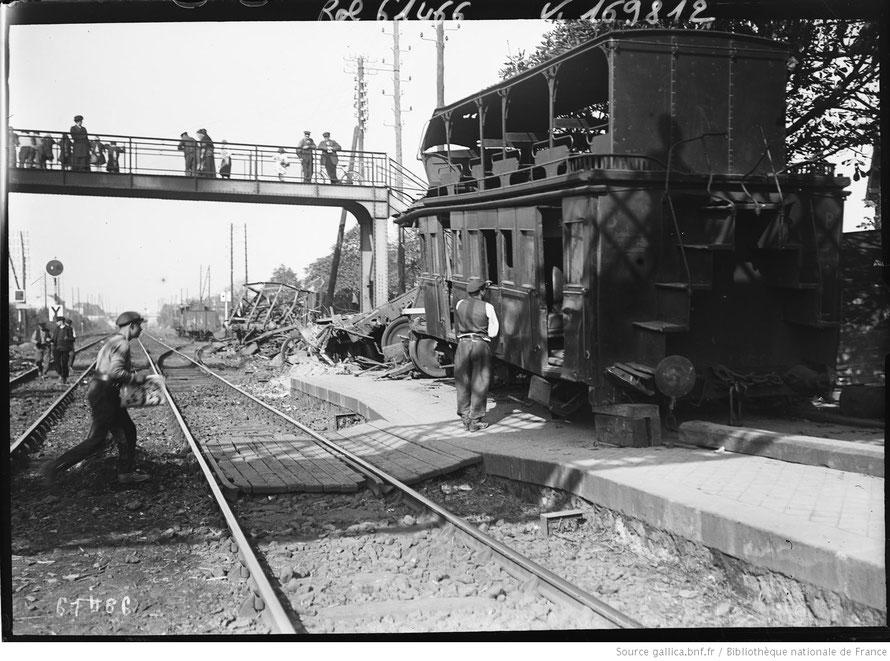 Houilles, catastrophe ferroviaire en 1920