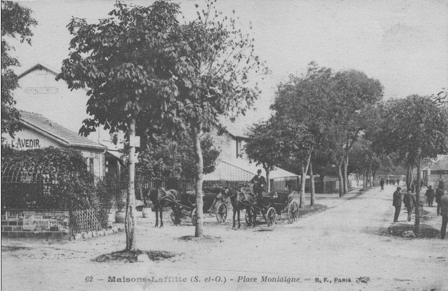 maisons-laffitte place montaigne