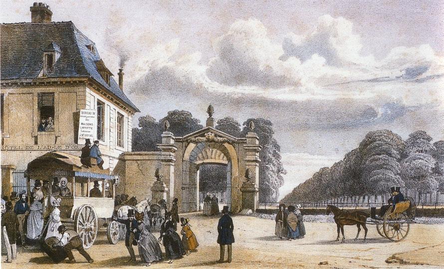 maisons-laffitte gravure chateau