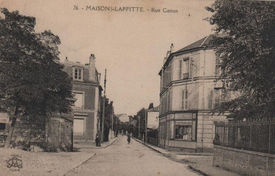 Maisons-Laffitte rue Canus