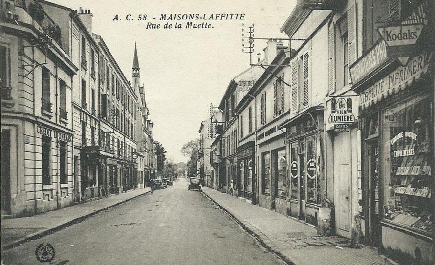 maisons-laffitte rue de la muette