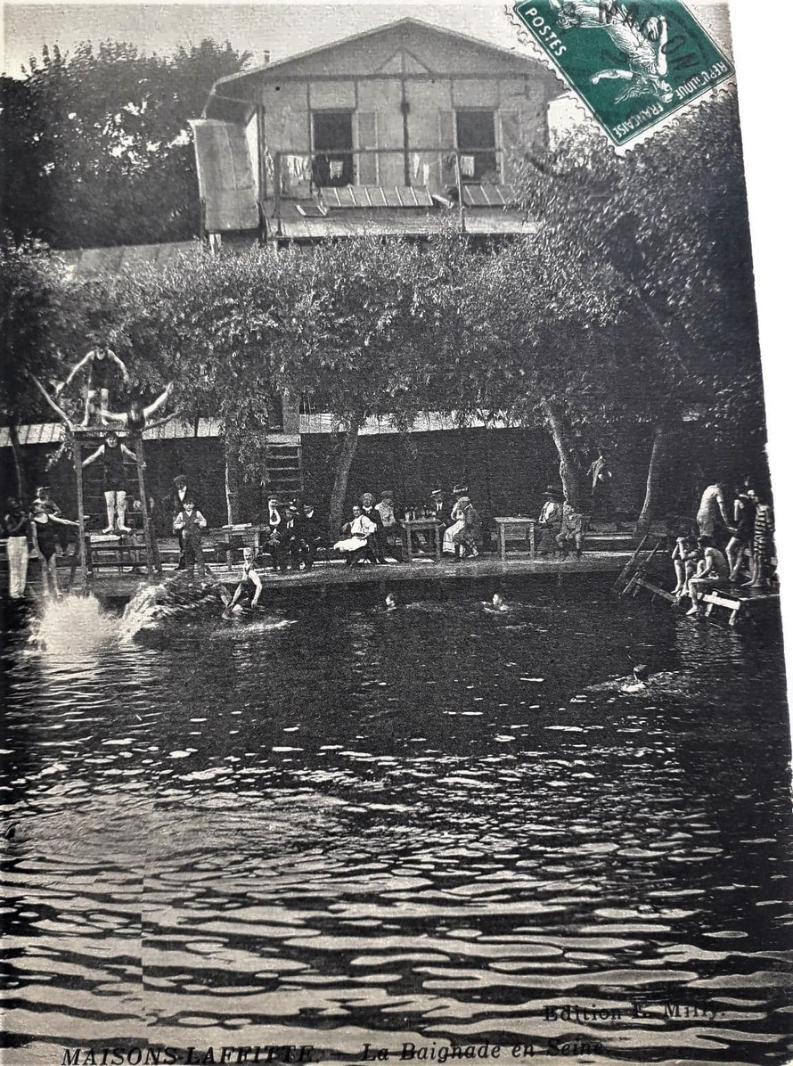 maisons-laffitte baignade dans le seine