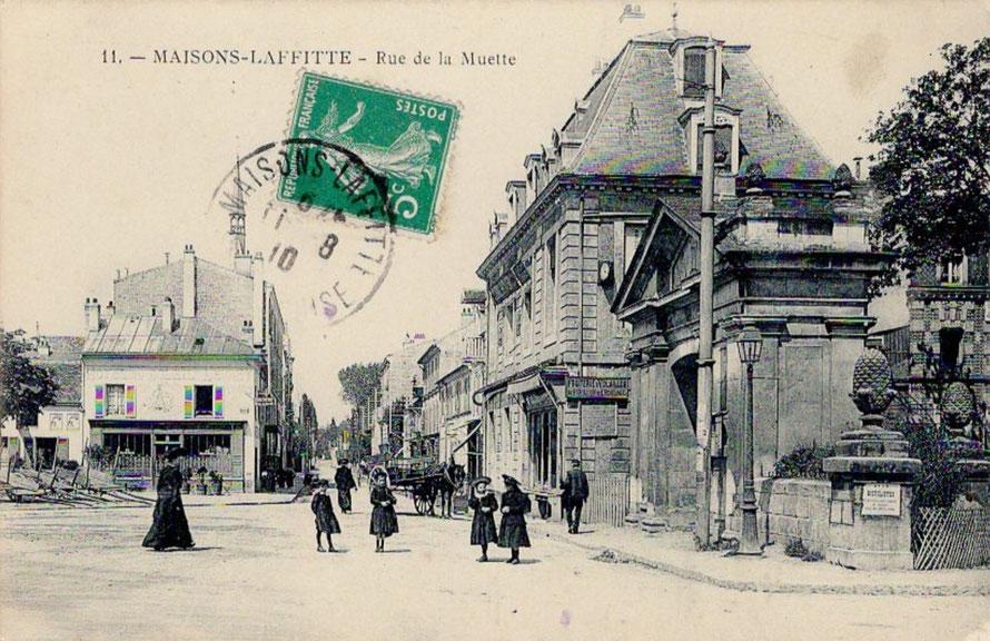 maisons-laffitte, rue de la muette