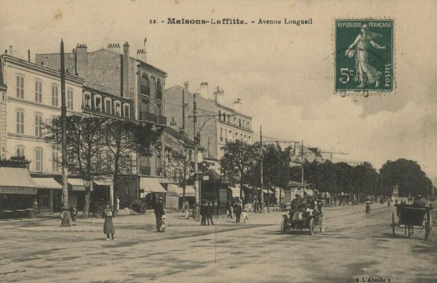 maisons-laffitte; avenue de longueil