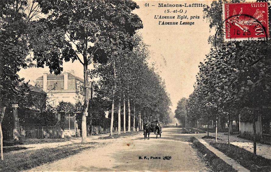 maisons-laffitte, avenue egle